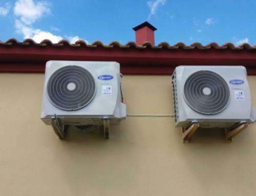 Suministro e instalación de equipos de aire acondicionado Carrier