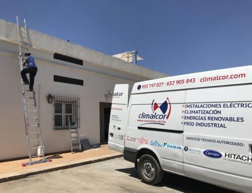 Cambio de campana extractora en Hacienda Guadalupe