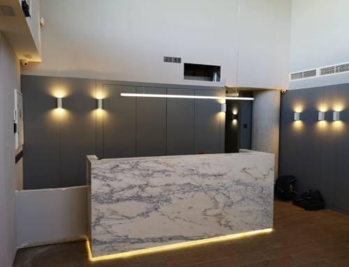 Varias instalaciones para la clínica odontológica García Cortés
